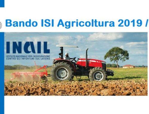 Bando Isi Agricoltura 2019/2020 – INAIL